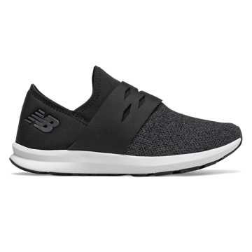 New Balance FuelCore Spark, Black with Phantom & White