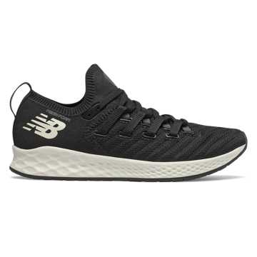 New Balance Fresh Foam Zante Trainer, Black with Orca & Sea Salt