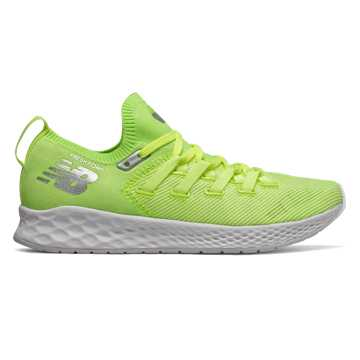 New Balance Fresh Foam Zante Trainer, Bleached Lime Glo with White