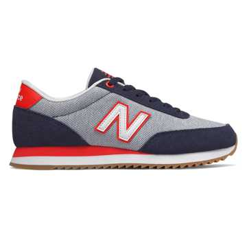 New Balance 501, Pigment with Team Red