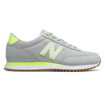 New Balance 501, Light Cyclone with Bleached Lime Glo