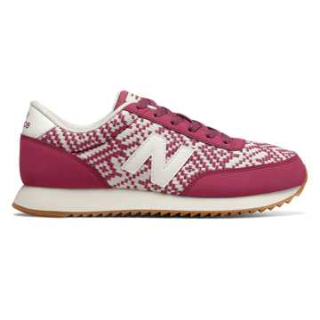 New Balance 501 Ripple Sole, Dragon Fruit with Sea Salt