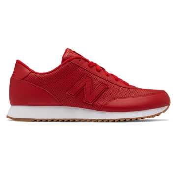 New Balance 501 Ripple Sole, Scarlet