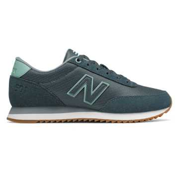 New Balance 501, Petrol with Mineral Sage