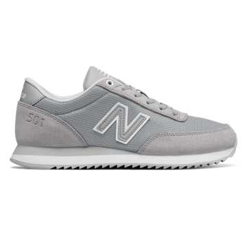 New Balance 501 Core, Silver Mink with White
