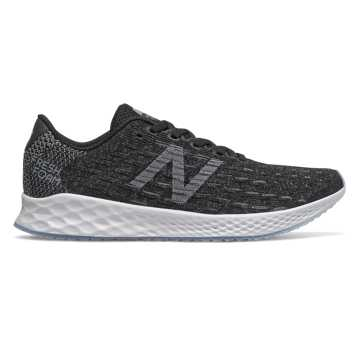 New Balance Fresh Foam Zante Pursuit, Black with Castlerock & White