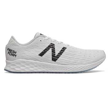 New Balance Fresh Foam Zante Pursuit, White with Summer Fog & Black