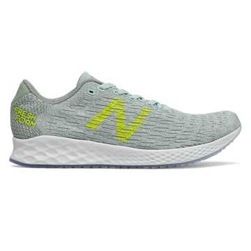 New Balance Fresh Foam Zante Pursuit, White Agave with Cedar Quartz & Sulphur Yellow