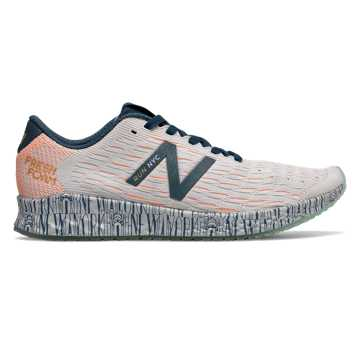 New Balance Fresh Foam Zante Pursuit United Airlines NYC Half, Summer Fog with Mango & Bleached Lime Glo