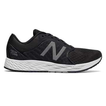New Balance Fresh Foam Zante v4, Black with Phantom & Silver