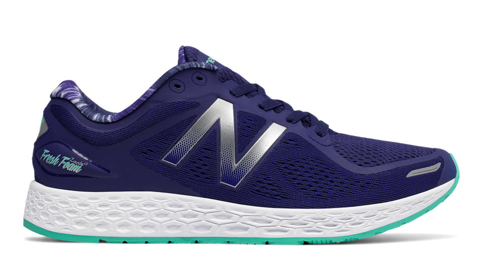 Women's New Balance Fresh Foam Zante Shoe Navy Size 7 #NGZRC-M402