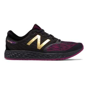 New Balance Fresh Foam Zante v3 Disney, Black with Mulberry
