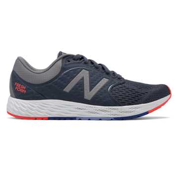 New Balance Fresh Foam Zante v4, Gunmetal with Arctic Fox & Black