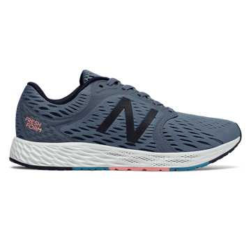 New Balance Fresh Foam Zante v4, Deep Porcelain Blue with White Munsell