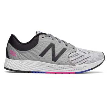 New Balance Fresh Foam Zante v4, Steel with Black & Pink Glo