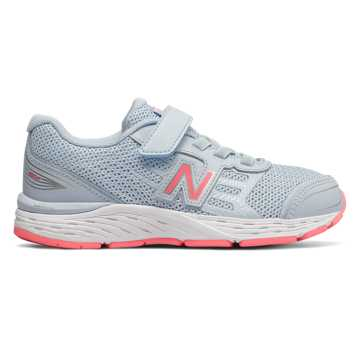 New Balance Hook and Loop 680v5, Air with Guava