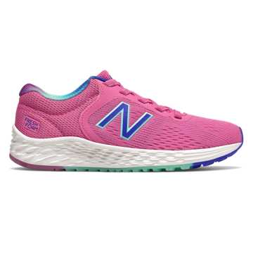 New Balance Bungee Lace Fresh Foam Arishi v2, Light Carnival with Vivid Cobalt