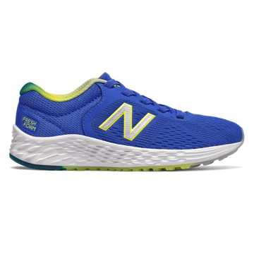 New Balance Bungee Lace Fresh Foam Arishi v2, Vivid Cobalt with Sulphur Yellow