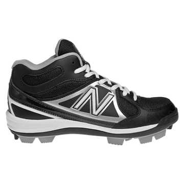 New Balance Rubber Molded Mid-Cut 3000, Black with Silver