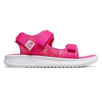 New Balance 750兒童休閑涼鞋, 迷彩玫