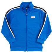 New Balance Youth NB Athletics Track Jacket, Vivid Cobalt