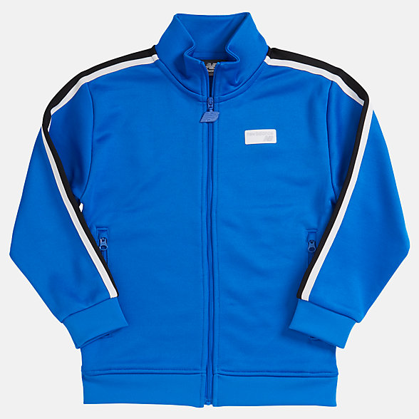 New Balance Youth NB Athletics Track Jacket, YJ93502VCT