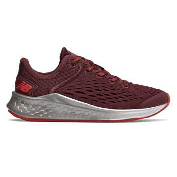 New Balance Fresh Foam Fast, NB Burgundy with Velocity Red