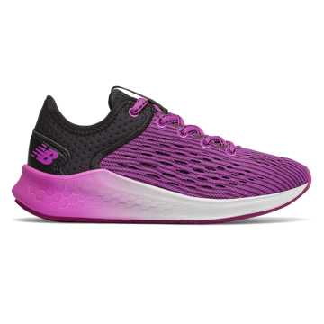 New Balance Fresh Foam Fast, Black with Voltage Violet