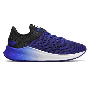 New Balance Fresh Foam Fast, Black with UV Blue