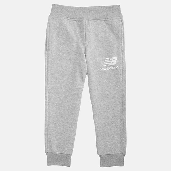 NB Youth Essentials Stacked Sweatpant, YP93500AG