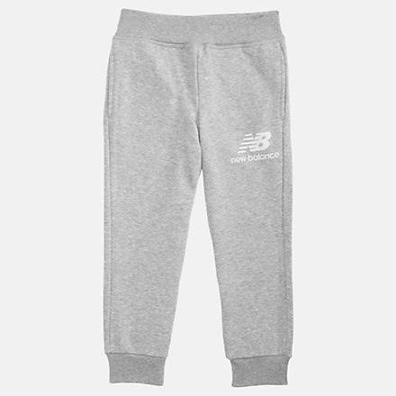 New Balance Youth Essentials Stacked Sweatpant, YP93500AG image number null