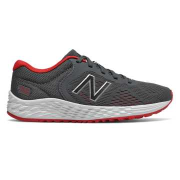New Balance Arishi v2, Gunmetal with Energy Red
