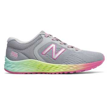 New Balance Arishi v2, Light Aluminum with Rainbow