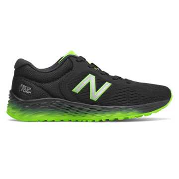 New Balance Arishi v2, Black with RGB Green