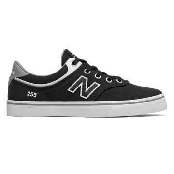 New Balance 255, Black with White