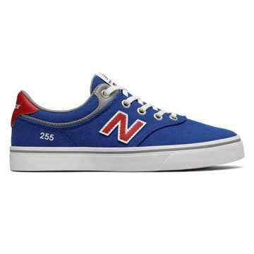 New Balance 255, Royal Blue with Red