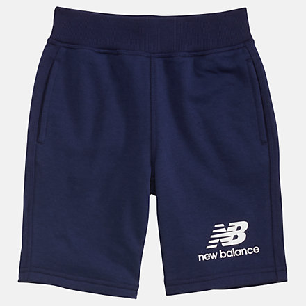New Balance Youth Essentials Stacked Fleece Short, YS93500PGM image number null