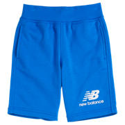 New Balance Youth Essentials Stacked Fleece Short, Vivid Cobalt