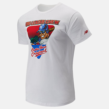 New Balance Big League Chew Graphic Tee, YT01719WT image number null