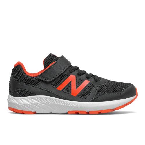 New Balance Enfant 570 Bungee, Black/Orange