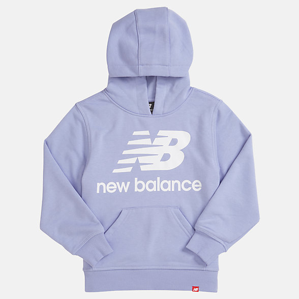 New Balance Youth Essentials Stacked Po Hoodie, YT93500CAY