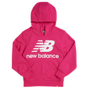 New Balance Youth Essentials Stacked Po Hoodie, Carnival