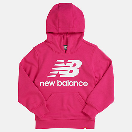 New Balance Youth Essentials Stacked Po Hoodie, YT93500CNV image number null