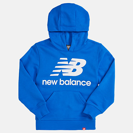 NB Youth Essentials Stacked Po Hoodie, YT93500VCT image number null