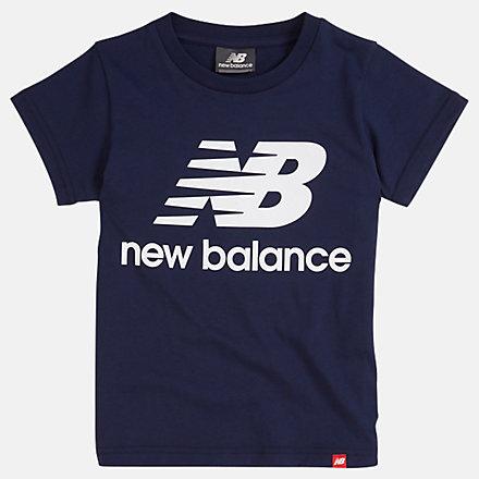 New Balance T-shirt avec logo Essentials superposé pour jeunes, YT93501PGM image number null