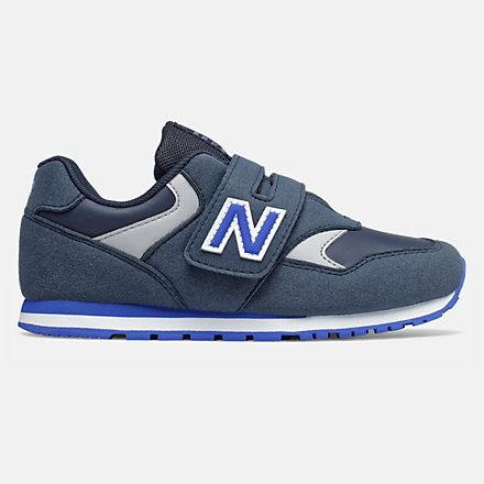 basket new balance enfant noir