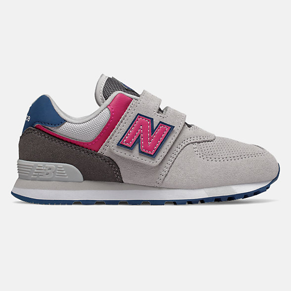 New Balance 574系列兒童休閑運動鞋, YV574JGO