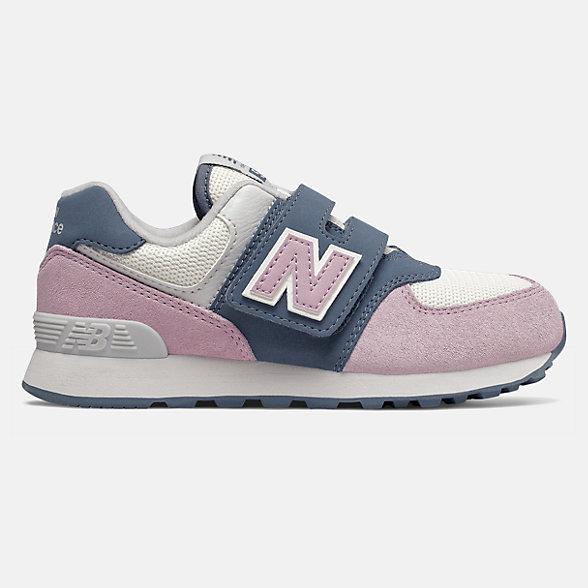 New Balance 574系列儿童复古休闲鞋, YV574JHG