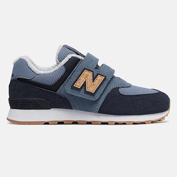 New Balance 574系列儿童休闲运动鞋, YV574KWA