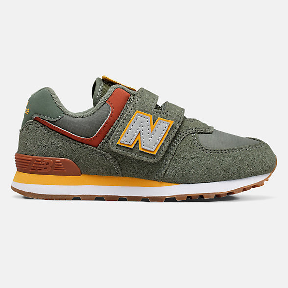 New Balance Hook and Loop 574, YV574PAD